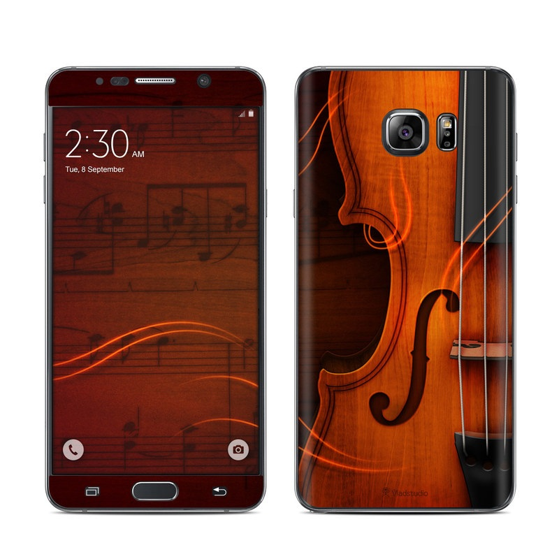 Violin Galaxy Note 5 Skin