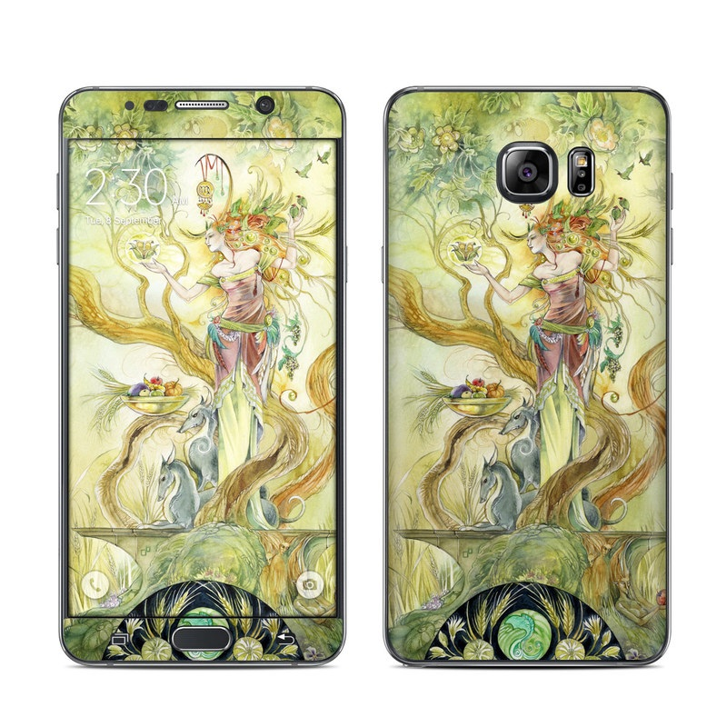 Virgo Galaxy Note 5 Skin
