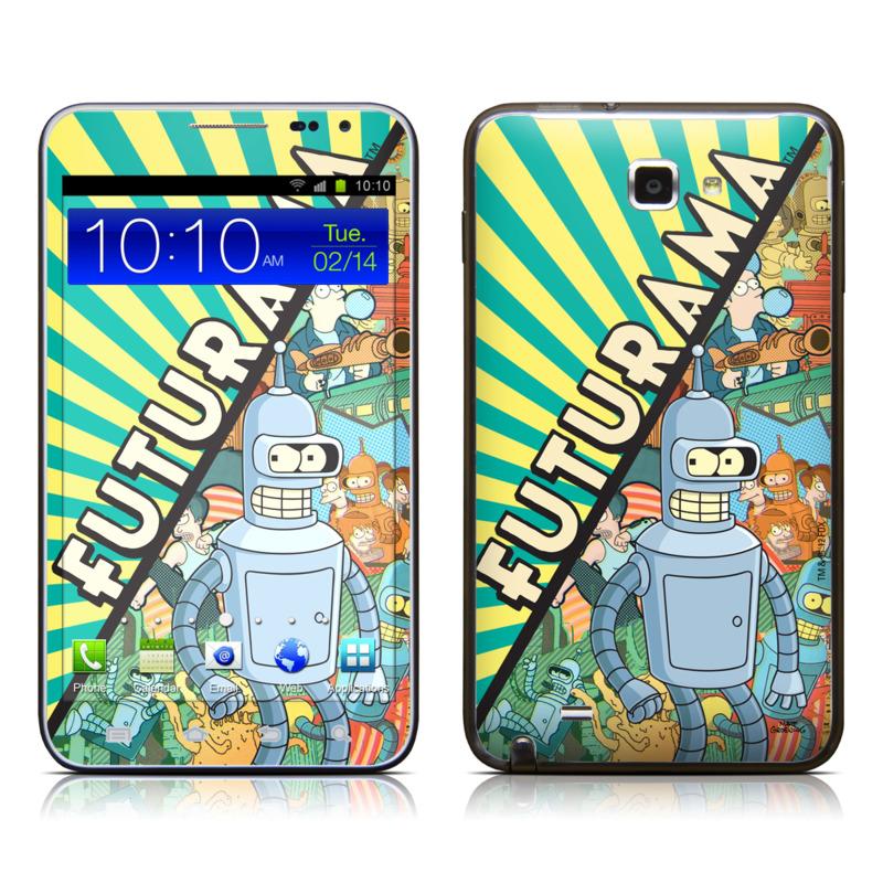 Bender Samsung Galaxy Note LTE Skin