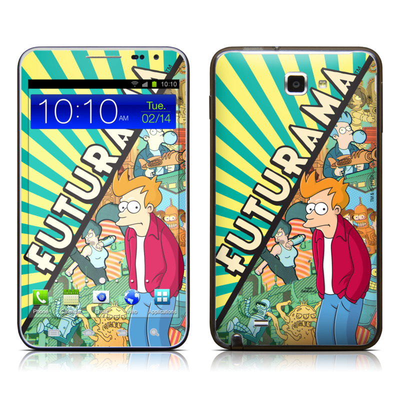 Fry Samsung Galaxy Note LTE Skin
