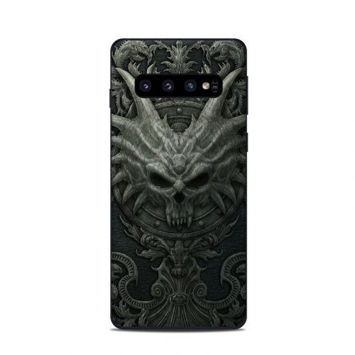 Black Book Samsung Galaxy S10 Skin