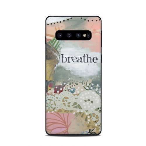 Breathe Samsung Galaxy S10 Skin