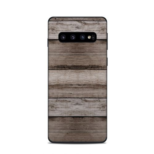 Barn Wood Samsung Galaxy S10 Skin