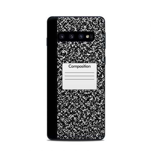 Composition Notebook Samsung Galaxy S10 Skin