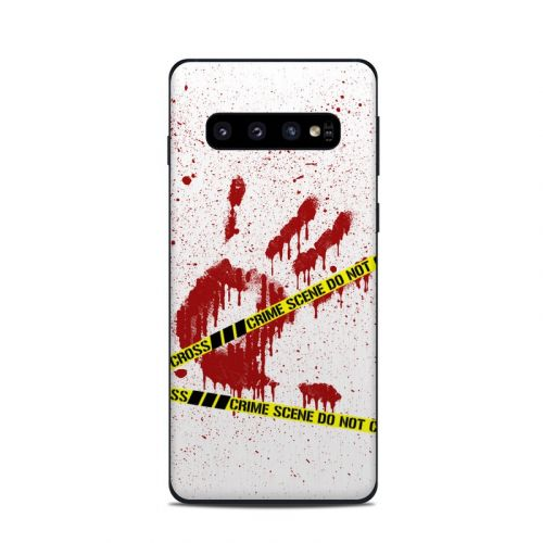 Crime Scene Revisited Samsung Galaxy S10 Skin