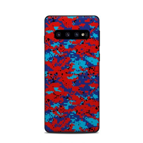 Digital Patriot Camo Samsung Galaxy S10 Skin