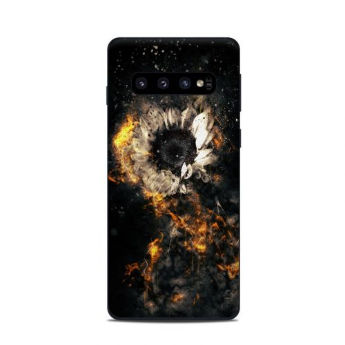 Flower Fury Samsung Galaxy S10 Skin