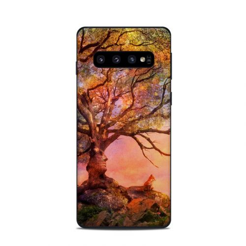 Fox Sunset Samsung Galaxy S10 Skin