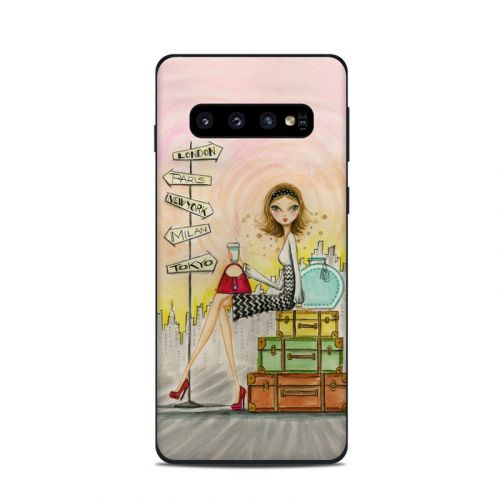 The Jet Setter Samsung Galaxy S10 Skin