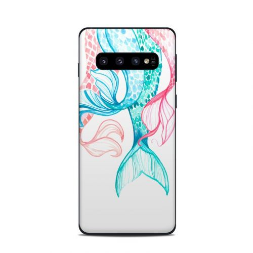 Mermaid Tails Samsung Galaxy S10 Skin