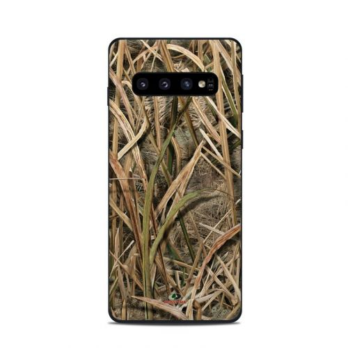 Shadow Grass Blades Samsung Galaxy S10 Skin