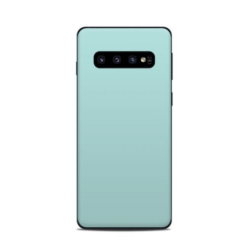 Solid State Mint Samsung Galaxy S10 Skin