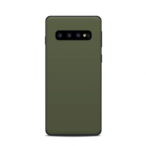 Solid State Olive Drab Samsung Galaxy S10 Skin