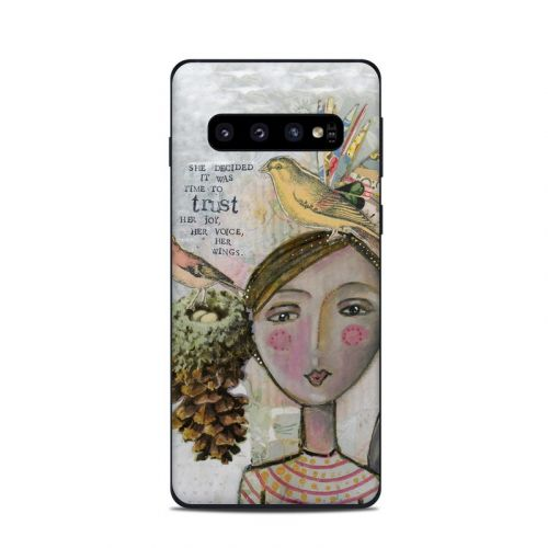 Time To Trust Samsung Galaxy S10 Skin