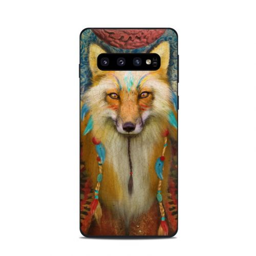 Wise Fox Samsung Galaxy S10 Skin