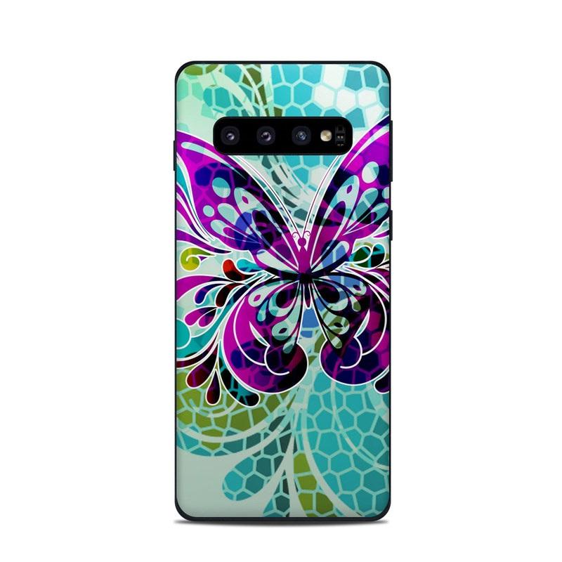butterfly pattern Samsung S10 Case