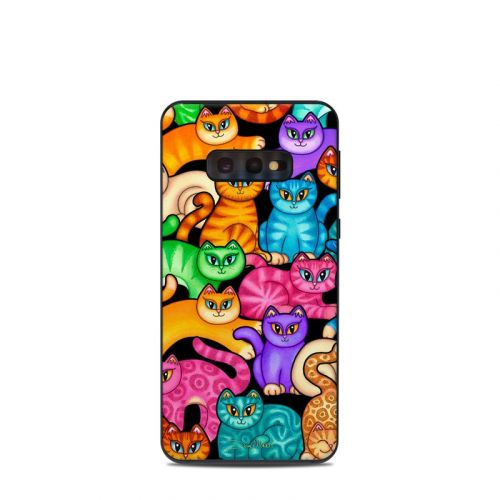 Colorful Kittens Samsung Galaxy S10e Skin