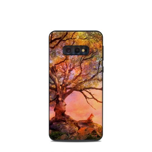 Fox Sunset Samsung Galaxy S10e Skin