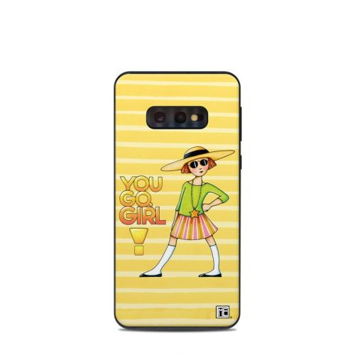 You Go Girl Samsung Galaxy S10e Skin