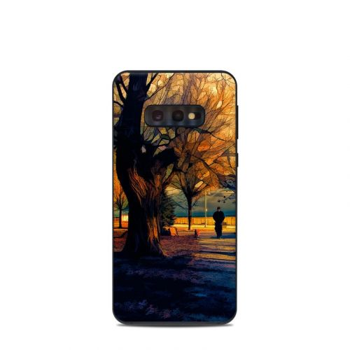 Man and Dog Samsung Galaxy S10e Skin