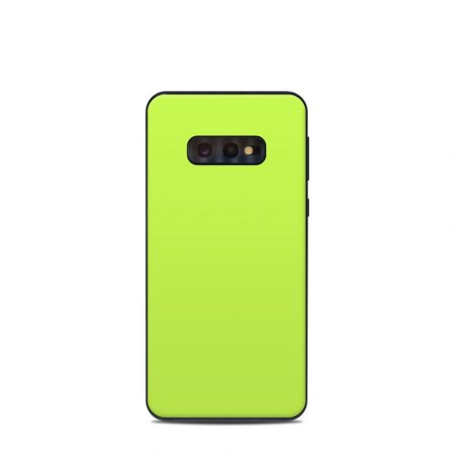 Solid State Lime Samsung Galaxy S10e Skin