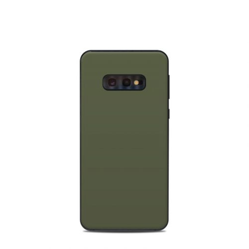 Solid State Olive Drab Samsung Galaxy S10e Skin