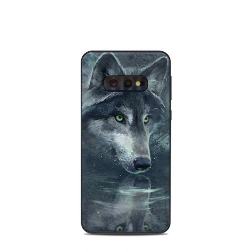 Wolf Reflection Samsung Galaxy S10e Skin