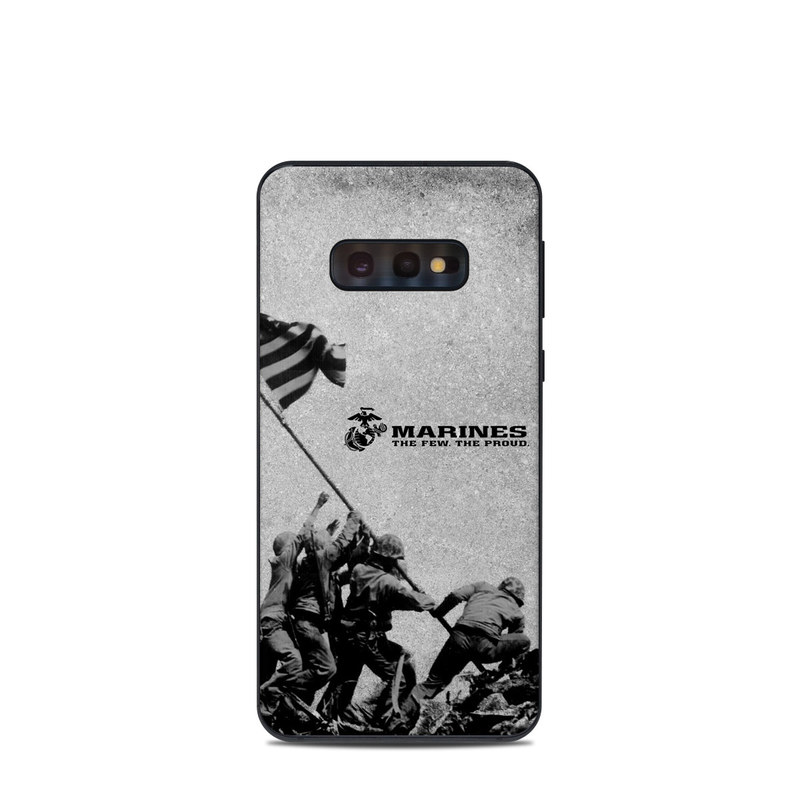Samsung Galaxy S10e Skin design of Flag, Illustration, Stock photography, Pole with gray, black colors