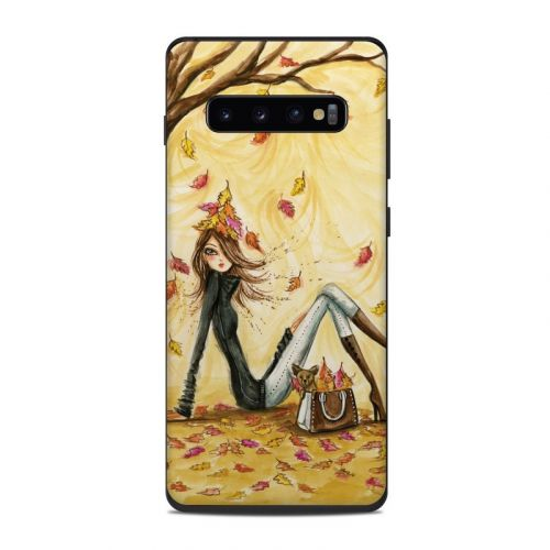 Autumn Leaves Samsung Galaxy S10 Plus Skin