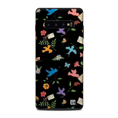Birds Samsung Galaxy S10 Plus Skin