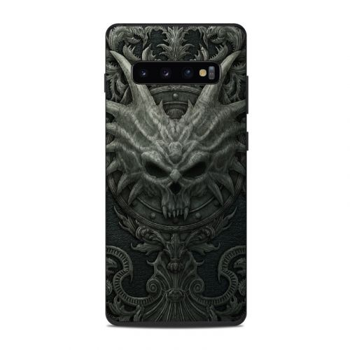 Black Book Samsung Galaxy S10 Plus Skin