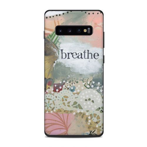Breathe Samsung Galaxy S10 Plus Skin