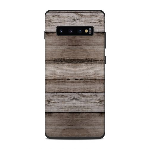 Barn Wood Samsung Galaxy S10 Plus Skin