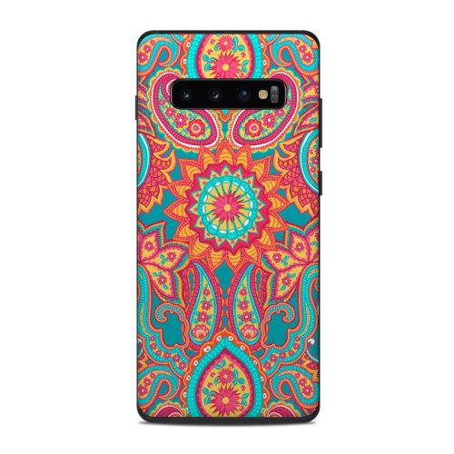 Carnival Paisley Samsung Galaxy S10 Plus Skin