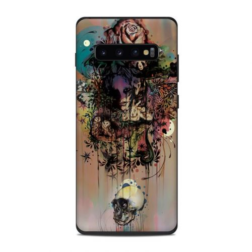 Doom and Bloom Samsung Galaxy S10 Plus Skin