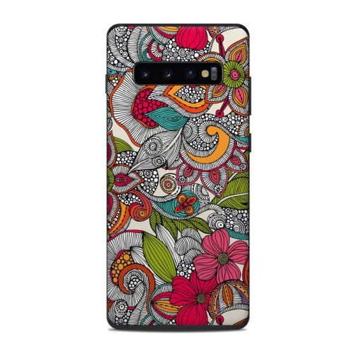 Doodles Color Samsung Galaxy S10 Plus Skin