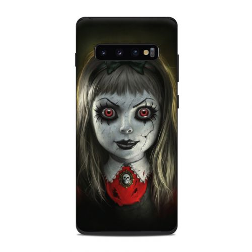 Haunted Doll Samsung Galaxy S10 Plus Skin