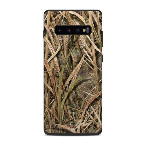 Shadow Grass Blades Samsung Galaxy S10 Plus Skin