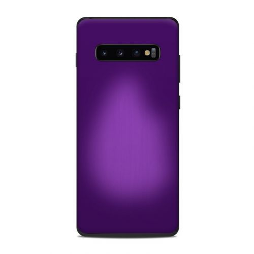 Purple Burst Samsung Galaxy S10 Plus Skin