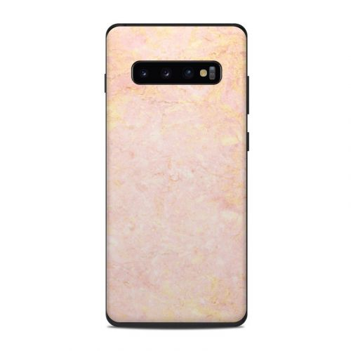 Rose Gold Marble Samsung Galaxy S10 Plus Skin