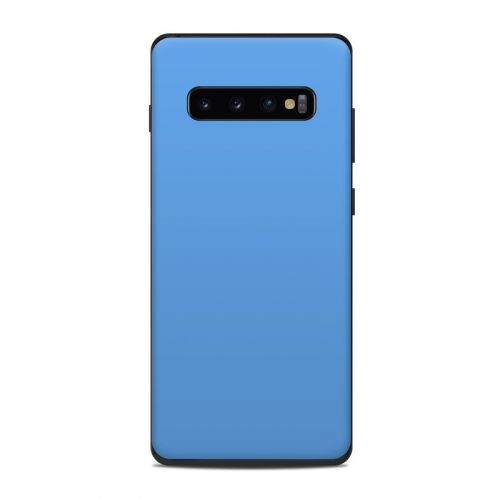 Solid State Blue Samsung Galaxy S10 Plus Skin