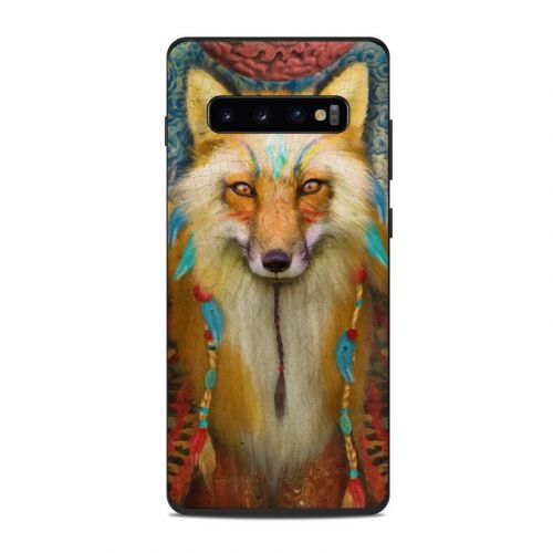 Wise Fox Samsung Galaxy S10 Plus Skin