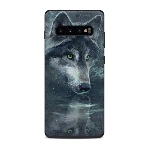 Wolf Reflection Samsung Galaxy S10 Plus Skin