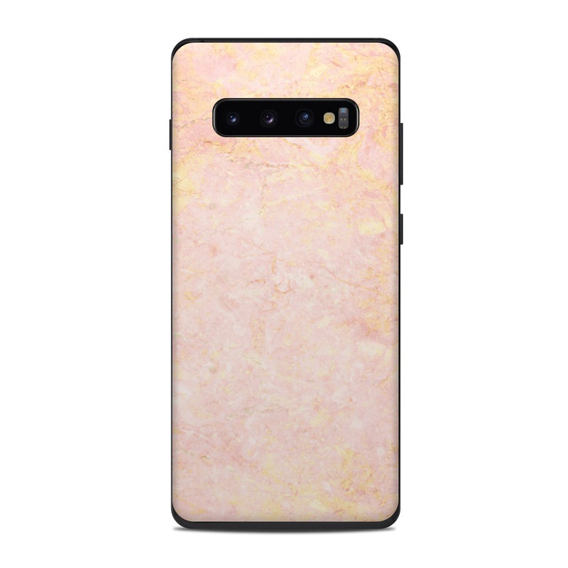 Rose Gold Marble Samsung Galaxy S10 Plus Skin Istyles