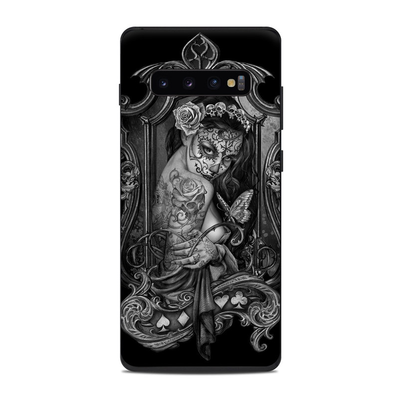 Samsung Galaxy S10 Plus Skin design of Style, Art, Monochrome, Black-and-white, Monochrome Photography, Visual Arts, Illustration, Painting, Drawing with black, white, gray colors