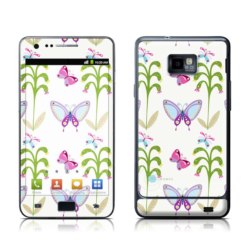 Butterfly Field Samsung Galaxy S II Skin