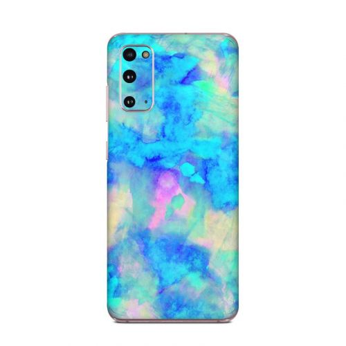 Electrify Ice Blue Samsung Galaxy S20 5G Skin