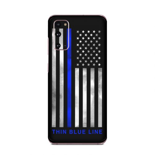 Thin Blue Line Samsung Galaxy S20 5G Skin