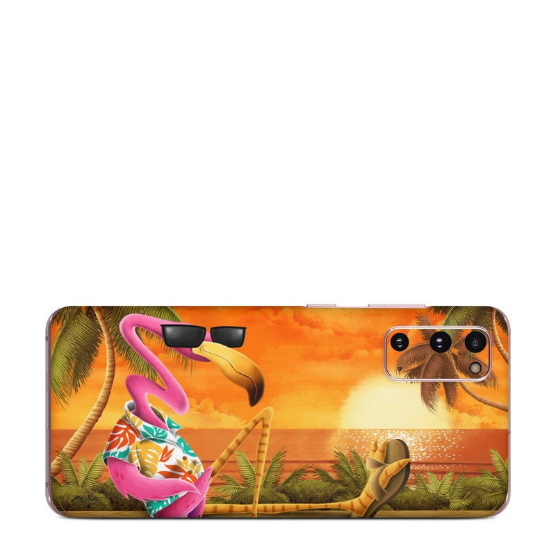 Samsung Galaxy S20 5G Skin design of Cartoon, Art, Animation, Illustration, Plant, Cg artwork, Shoe, Fictional character with red, orange, green, black, pink colors