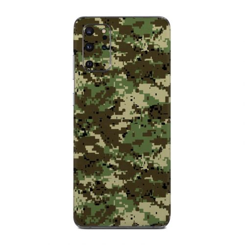 Digital Woodland Camo Samsung Galaxy S20 Plus 5G Skin